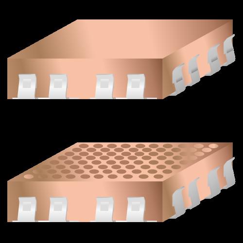 Clip-on PCB árnyékoló rendszer