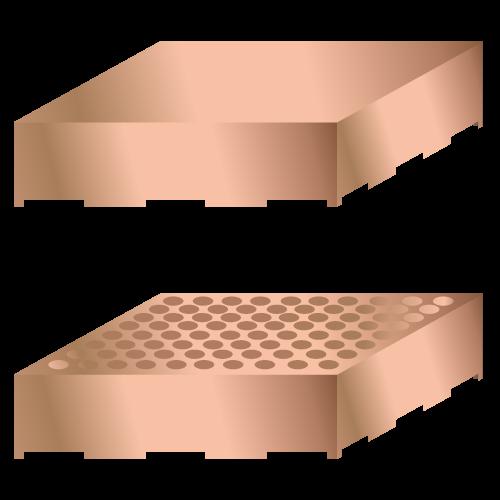 Rögzített PCB árnyékolás kannák