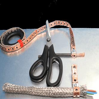 Kábel földelőkapcsok