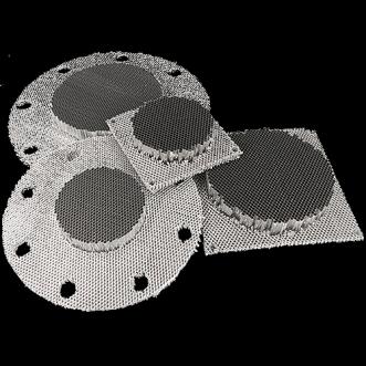 Keret nélküli Honeycomb szellőzők