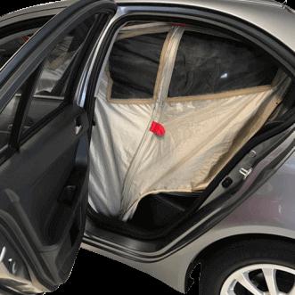 Autó árnyékolás (szintén zavaró)