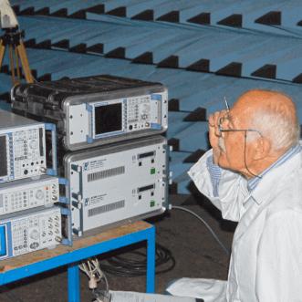 Rádiófrekvenciás térerősség méréseket a helyszínen