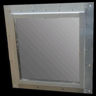 Nagy teljesítményű Faraday-kalitka ablakok