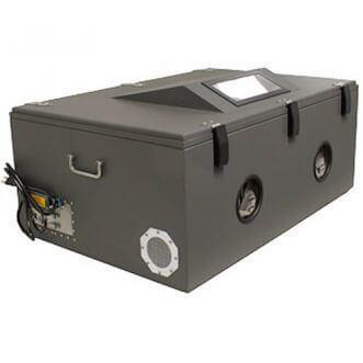RF árnyékolt teszt box