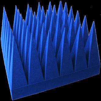 Szélessávú hibrid piramis lengéscsillapítók